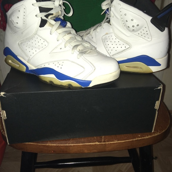 big sale b7cfb 39402 Sport Blue 6s